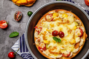 芝根芝底披萨
