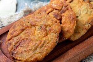 香酥牛肉饼做法培训
