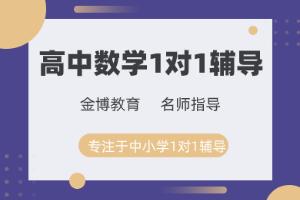 广州金博高中数学一对一辅导班