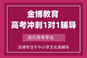 惠州金博高考冲刺一对一辅导班